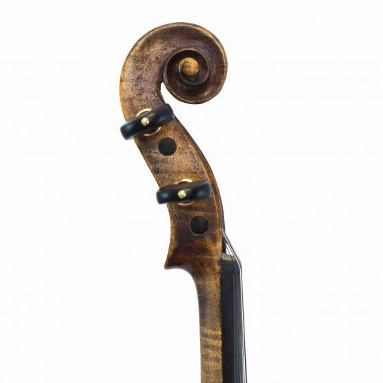 John Juzek Violin scroll