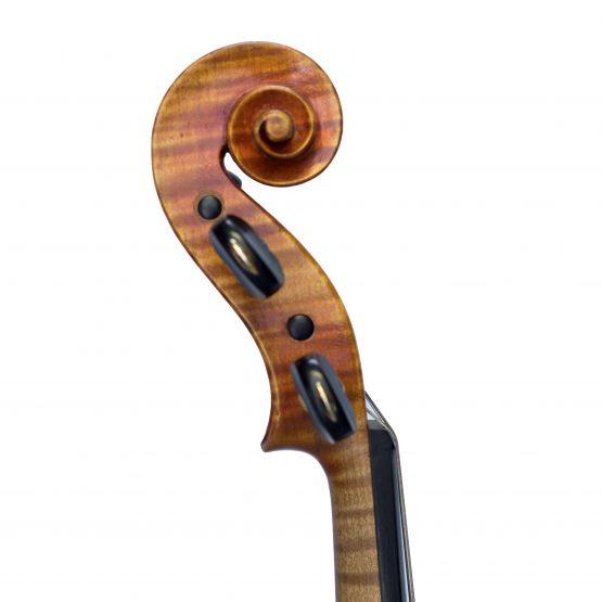 Ernst Kessler Violin scroll