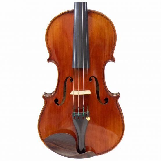 A La Ville Violin by Laberte Humberte front body