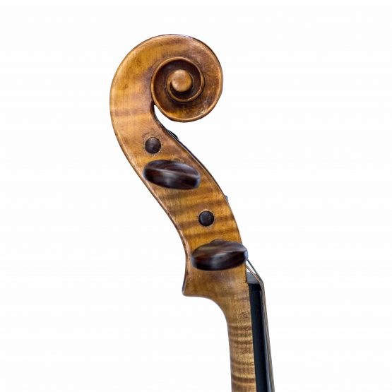 Laberte Humberte Violin scroll