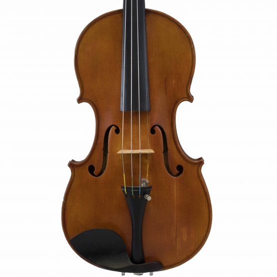 Lyon & Healy violin front body