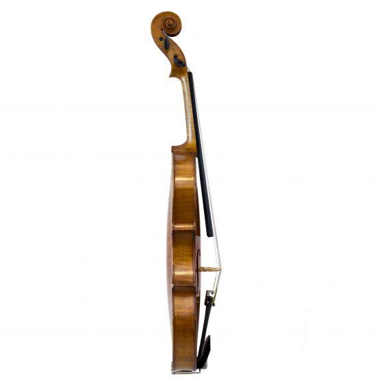 Lyon & Healy violin full side