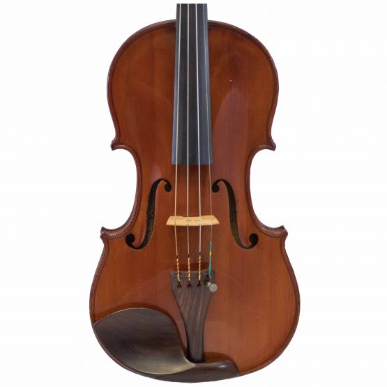 French Violin Labelled Ludovicus Meurot front body
