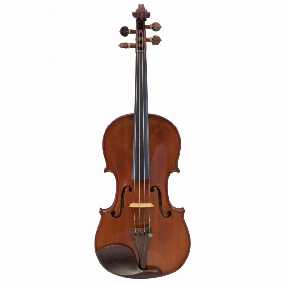 French Violin Labelled Ludovicus Meurot full front