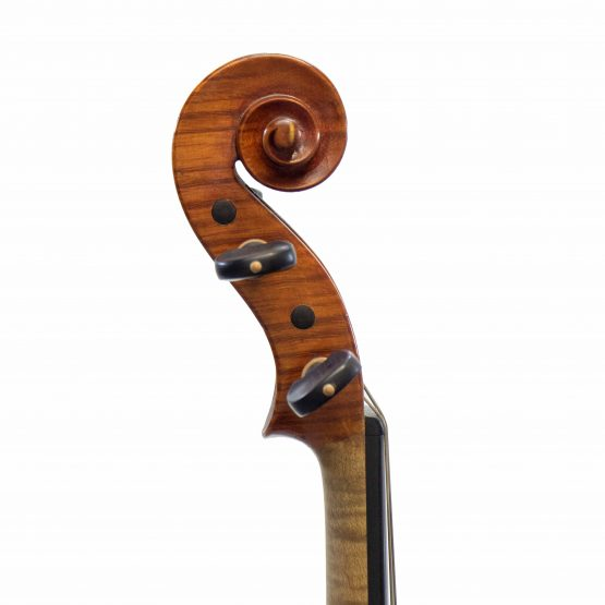 Frederick D. Rowe Violin scroll