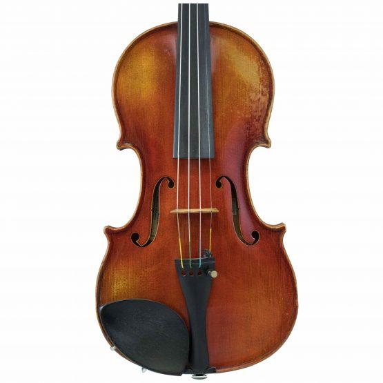 Violin Labelled Anton Schroetter front body