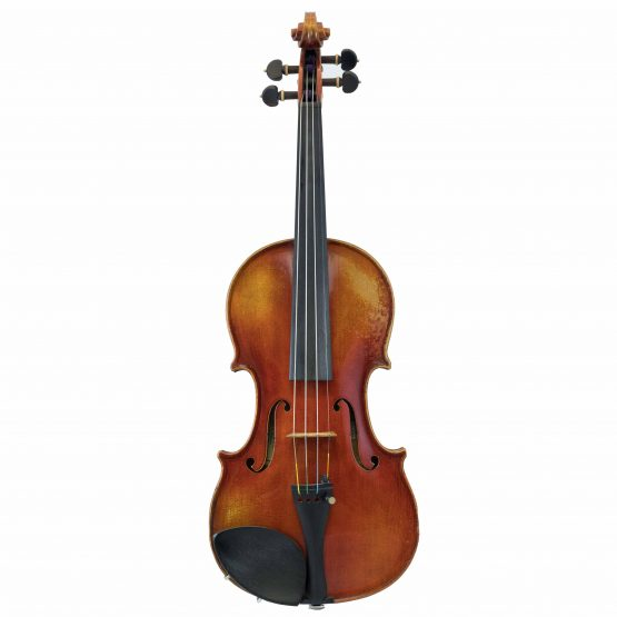 Violin Labelled Anton Schroetter full front