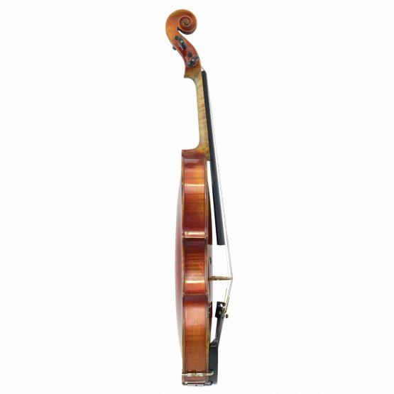 Violin Labelled Anton Schroetter full side