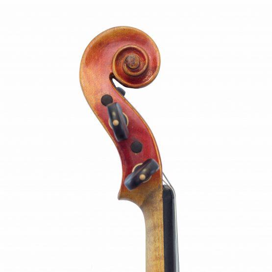 Violin Labelled Anton Schroetter scroll