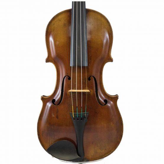 German Steiner Pattern Violin front body