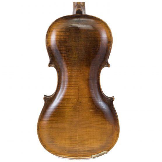 Wurlitzer & Bro Violin back body