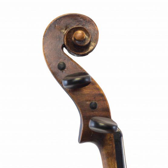 Wurlitzer & Bro Violin scroll