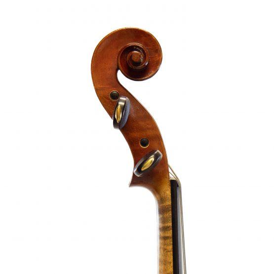 1938 H. Emile Blondelet Violin scroll