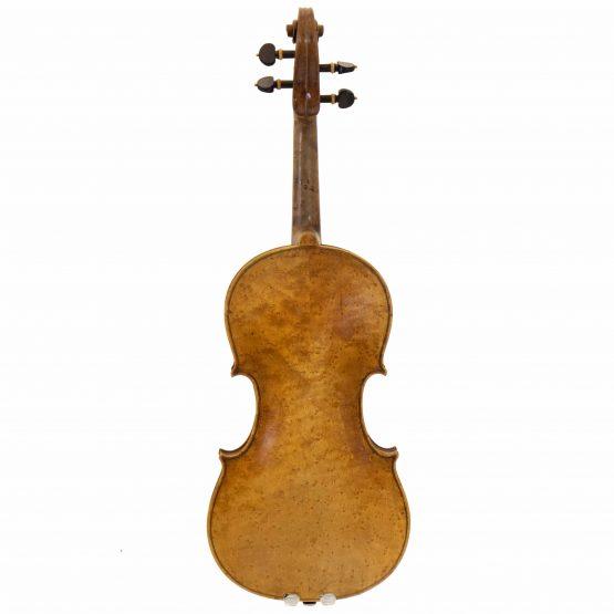 1919 Violin labelled Ansaldo Poggi by G. Cunault full back