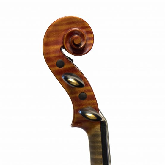 1978 Harald Edholm Violin scroll