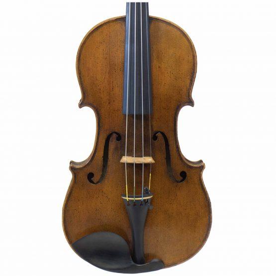 1887 Gebruder Wolff Violin front body