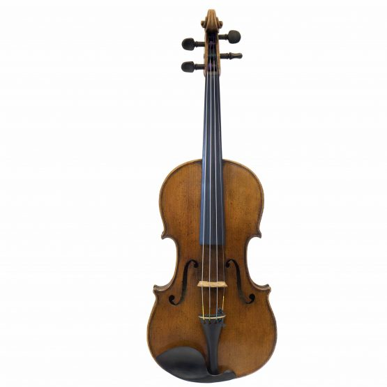 1887 Gebruder Wolff Violin full front