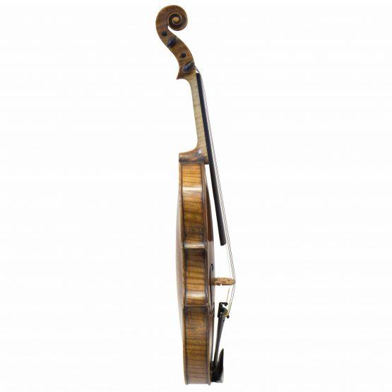 1887 Gebruder Wolff Violin full side