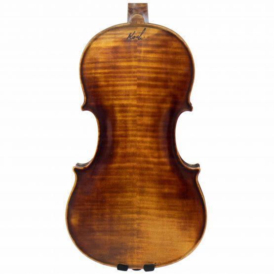 1924 Franz Joseph Koch Violin back body