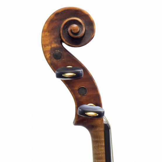 1924 Franz Joseph Koch Violin scroll