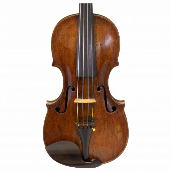 Johann Gottfried Liebich Violin front body