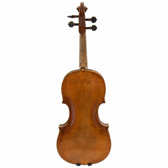 Johann Gottfried Liebich Violin full back