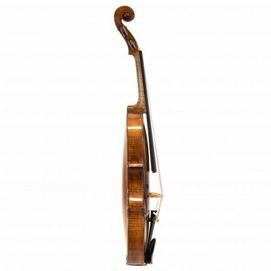 Johann Gottfried Liebich Violin full side