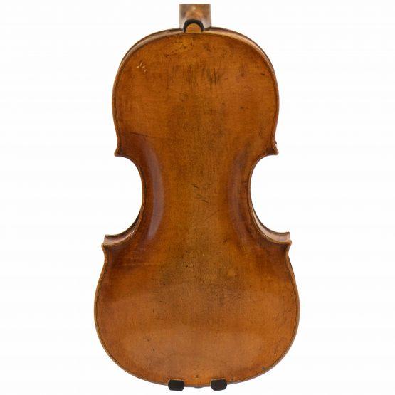 Johann Gottfried Liebich Violin back body