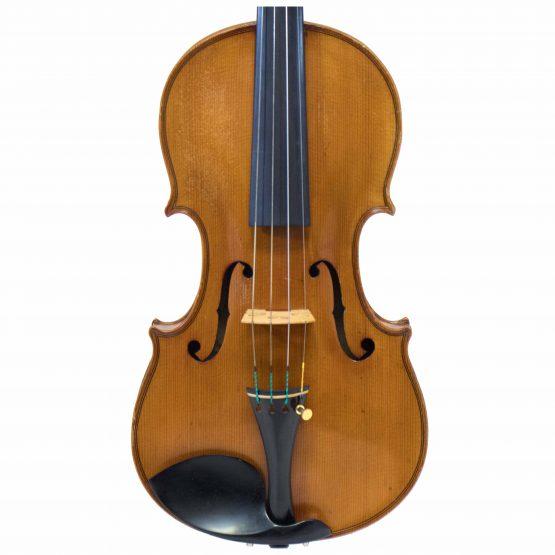 Hermann Schlosser Violin front body