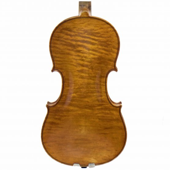 Hermann Schlosser Violin back body