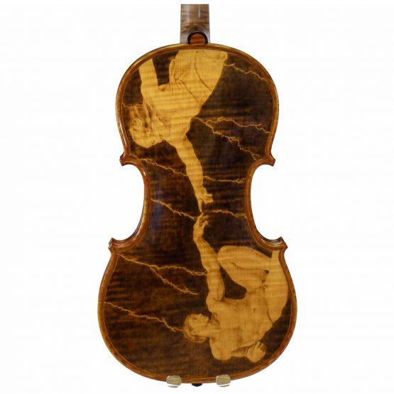 2004 Gliga Vasile Violin back body