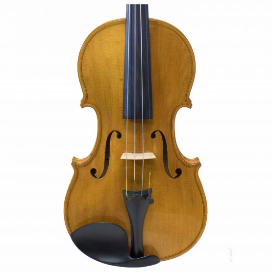 1979 C. Harry Backman Violin front body