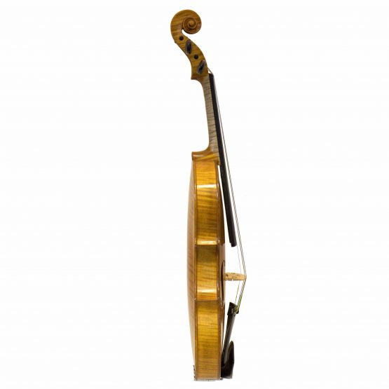 1979 C. Harry Backman Violin full side