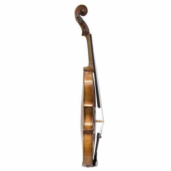 Violin Labelled Tommaso Balestrieri full side