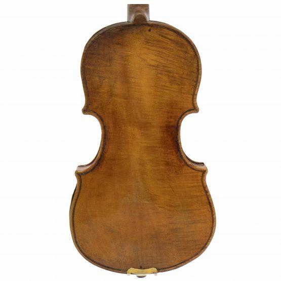 Violin Labelled Tommaso Balestrieri back body