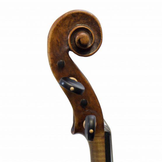 Violin Labelled Tommaso Balestrieri scroll