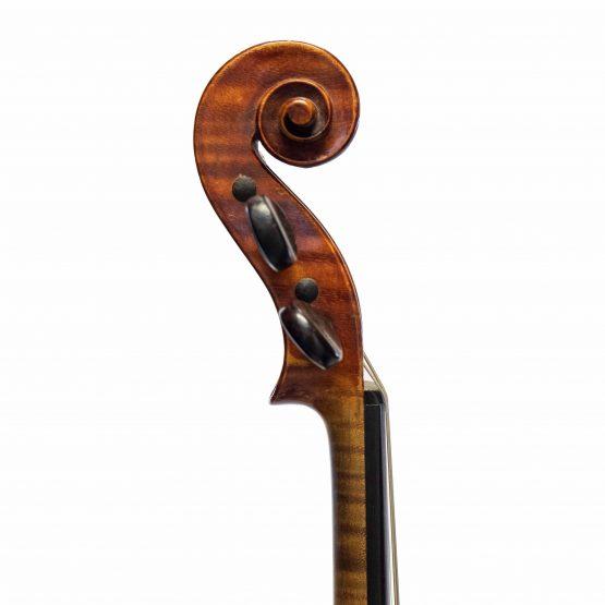 A.E. Fischer Violin scroll