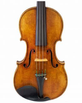 1906 John Friederich Violin front body
