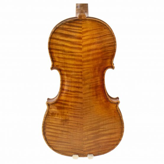 1906 John Friederich Violin back body