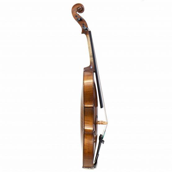 German Klotz Pattern Violin full side