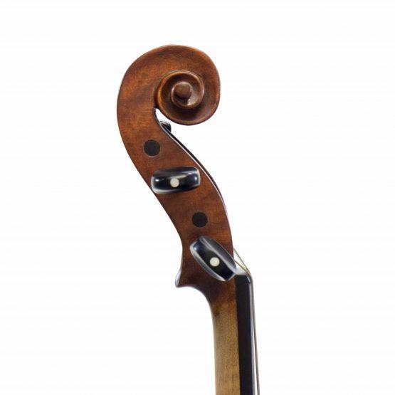 German Klotz Pattern Violin scroll