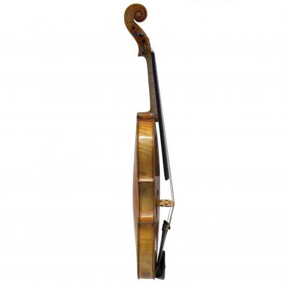 German Maggini Pattern Violin full side