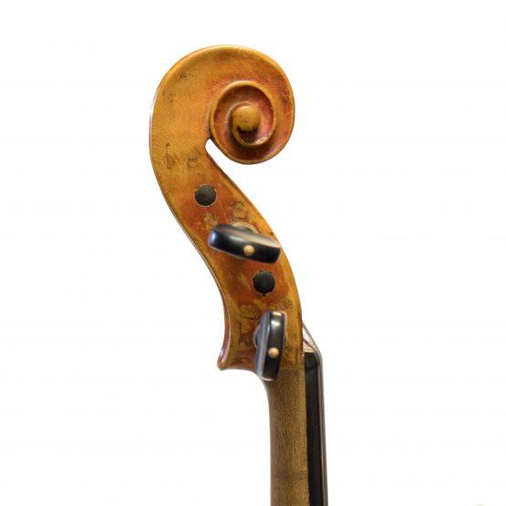 German Maggini Pattern Violin scroll