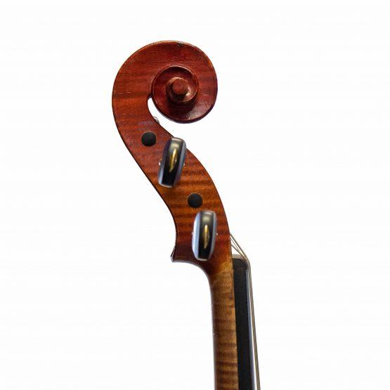Marc Laberte Workshop Violin scroll