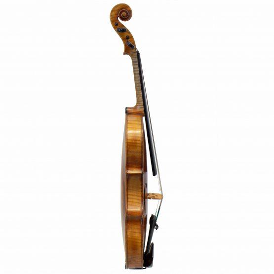 G.A. Pfretzschner Violin full side