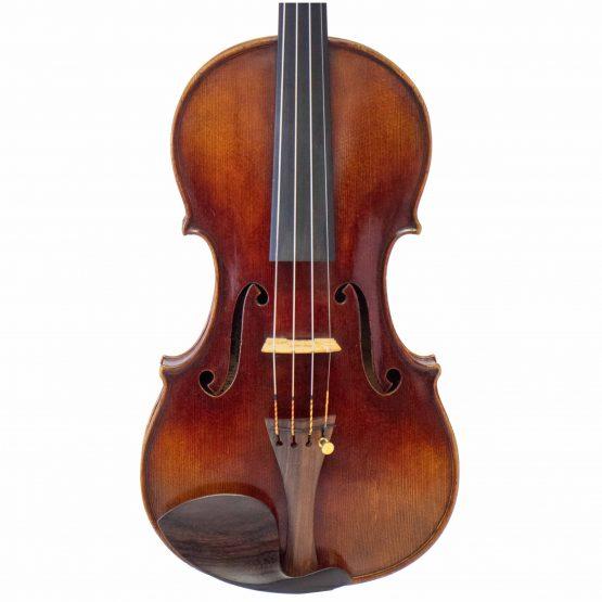 1910 Bela Szepessy Violin front body