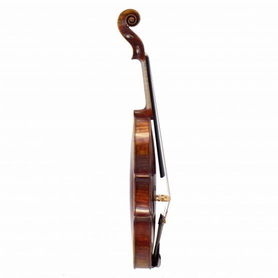 1910 Bela Szepessy Violin full side