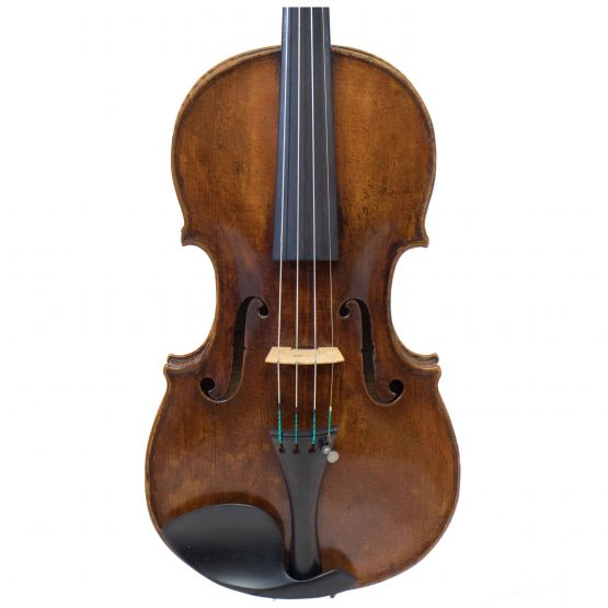 C. 1850 Tyrolean Violin front body