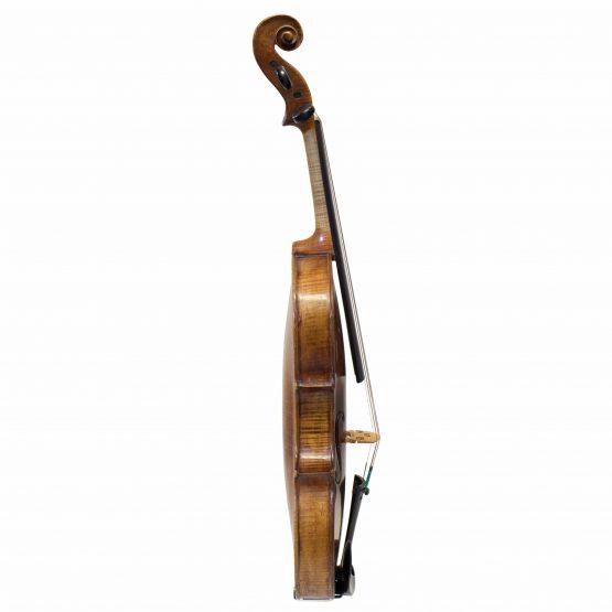 C. 1850 Tyrolean Violin full side