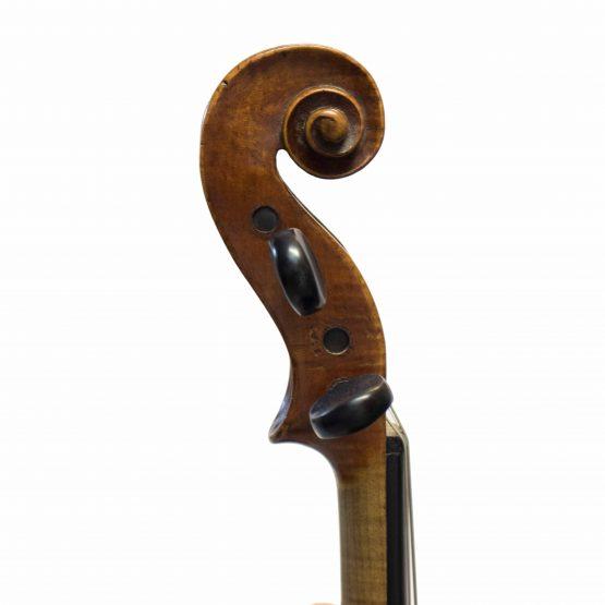 C. 1850 Tyrolean Violin scroll